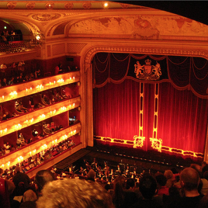 I love the ballet and opera!