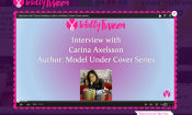 Totally Tween video interview with Carina Axelsson, author of the Model Under Cover book series.