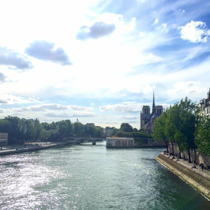 Paris has always been beautiful - and will always be beautiful...nothing can change that.