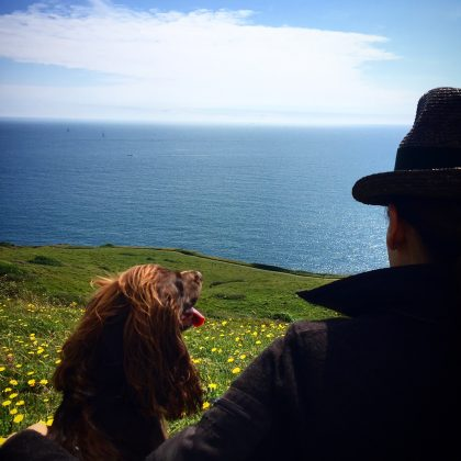 On holiday on the Dorset coast!