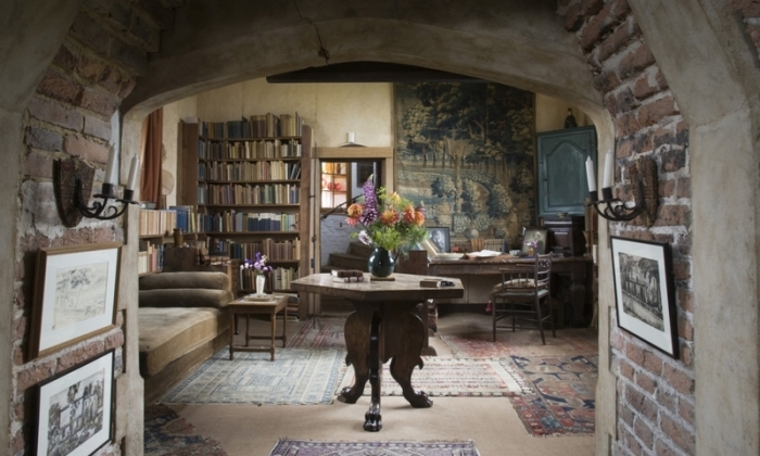 Vita Sackville-West writing room Sissinghurst Castle