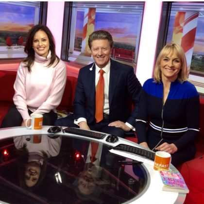 CarinaAxelsson Royal Rebel BBC Breakfast Show